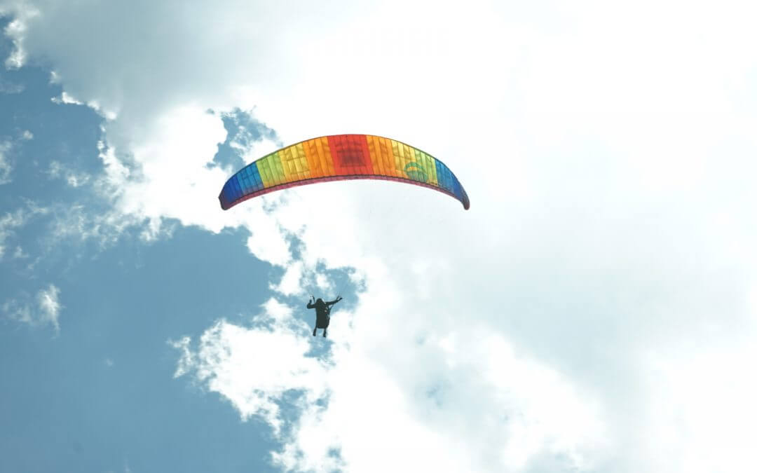 Pt. 1 in Learning to Paraglide AND Learning to SOAR in LIFE!