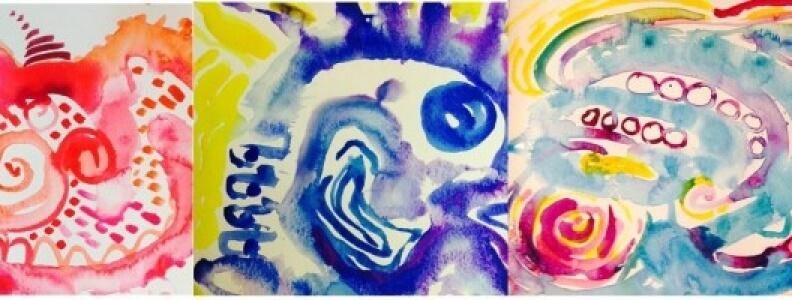 Painting Meditation Journal Video Tour